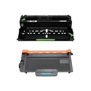 2 Pack (1 Drum + 1 Toner)  Combo Brother TN850  DR820 New Compatible