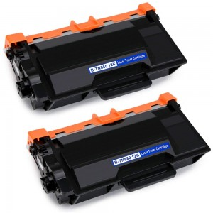 2 Pack Brother TN850 Toner Cartridge Black New Compatible