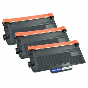 3 Pack Combo Brother TN850 Toner Cartridge Black New Compatible