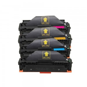 4 Pack BK/C/Y/M Combo HP CF410A CF411A CF412A CF413A  Black/Cyan/Magenta/Yellow Toner Cartridge New Compatible
