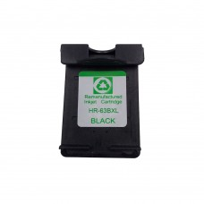 HP 63XL Ink Cartridge Black Remanufactured