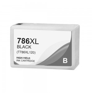 Epson T786 Ink Cartridge Black New Compatible High Yield (Canada Only)