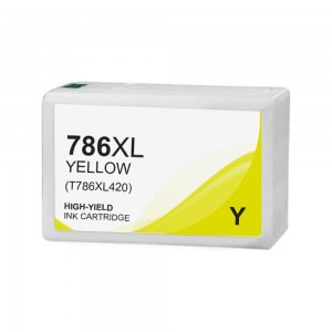 Epson T786 Ink Cartridge Yellow New Compatible High Yield (Canada Only)