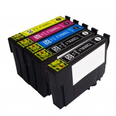 5 Pack 2BK/1C/1Y/1M Combo Epson T200 Ink Cartridge Black/Cyan/Magenta/Yellow New Compatible (Canada Only)