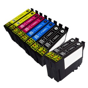 10 Pack 4BK/2C/2Y/2M Combo Epson T200 Ink Cartridge Black/Cyan/Magenta/Yellow New Compatible (Canada Only)