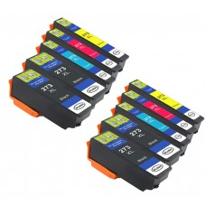 10 Pack 4BK/2C/2Y/2M Combo Epson T273 Ink Cartridge Black/Cyan/Magenta/Yellow New Compatible (Canada Only)