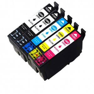 5 Pack 2BK/1C/1Y/1M Combo Epson T288XL Remanufactured Ink Cartriges  Black/Cyan/Magenta/Yellow (Canada Only)