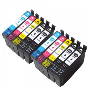10 Pack 4BK/2C/2Y/2M Combo Epson T288XL Remanufactured Ink Cartriges Black/Cyan/Magenta/Yellow (Canada Only)