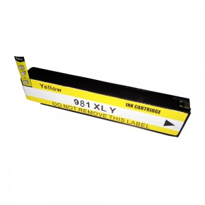 HP 980XL Ink Cartridge Yellow New Compatible