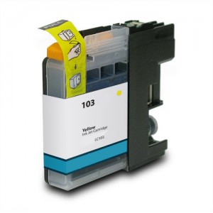 Yellow Brother LC103XL Ink Cartridge New Compatible