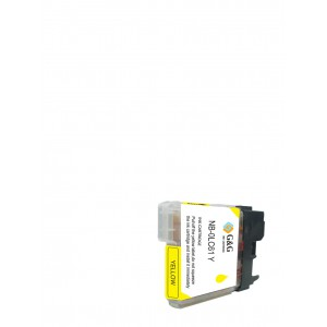 Brother LC61Y Ink Cartridge Yellow New compatible