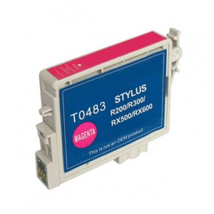 Epson T0483 (T048320) Ink Cartridge Magenta (Canada Only)