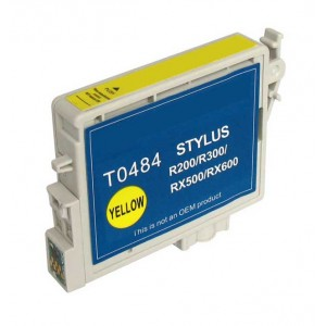 Epson T0484 (T048420) Ink Cartridge Yellow (Canada Only)