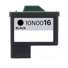 Lexmark 16 Ink Cartridge Black (10N0016) New Compatible