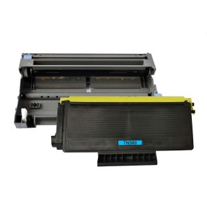 2 Pack (1 Drum + 1Toner) Combo Brother DR520/TN580 Black New Compatible