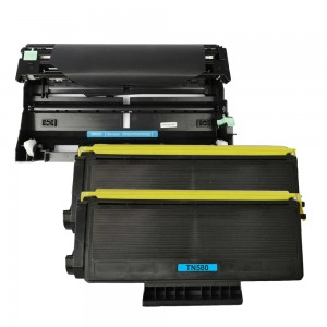 3 Pack (1 Drum + 2 Toner) Combo Brother DR520/ TN580 Black New Compatible