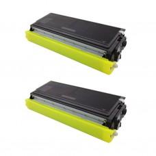 2 Pack Brother TN460/TN560/TN570 Toner Cartridge Black New Compatible