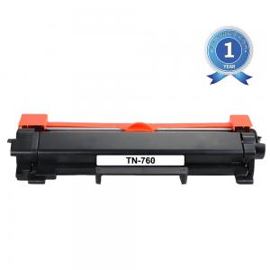 Brother TN760 / TN730 Black Toner Cartridge New Compatible High Yield
