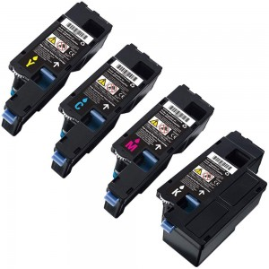 4 Pack 1BK/1C/1Y/1M Combo Dell 331-0777/8/9 Toner Cartridge Black/Cyan/Magenta/Yellow (Dell 1250)