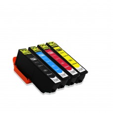4 Pack Combo 1BK/1C/1M/1Y Epson T277XL120 T277XL220 T277XL320 T277XL420 New Compatible Black/Cyan/Magneta/Yellow Ink Cartridge High Yield (Canada Only)