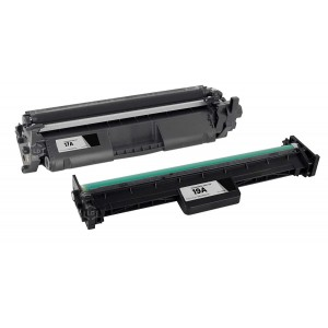 2 Pack Combo (1Drum+ 1 Toner) HP 17A 19A CF217A CF219A Black Compatible Toner and Drum