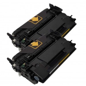 2 Pack New Compatible Hp 26A(CF226A) Toner Cartridge Black