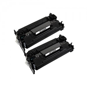 2 Pack New Compatible Hp 26A/X(CF226A/X) Toner Cartridge Black