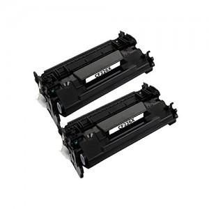 2 Pack New Compatible Hp 26A/X(CF226A/X) Toner Cartridge Black