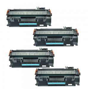 4 Pack Combo Hp 80A(CF280A)/05A(CE505A)/ Canon 119 (CRG119)  Toner Cartridges Black New Compatible
