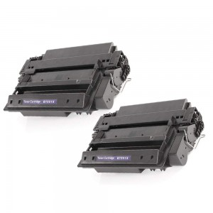 2 Pack HP Q7551X Toner Cartridge Black High Yield (51X) New Compatible