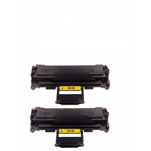 2 Pack Samsung MLT-D108S Toner Cartridge Black New compatible