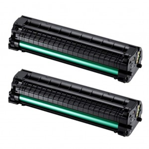 2 Pack Samsung MLT-D104S Toner Cartridge Black (samsung 1660) New compatible