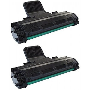 2 Pack Samsung ML2010D3/ML-1610D3/SCX-4521/1100/1110/106R01159 Toner Cartridge Black New compatible
