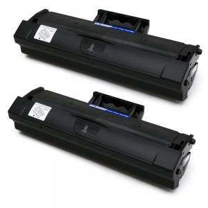 2 Pack Samsung MLT-D111S Toner Cartridge Black New Compatible
