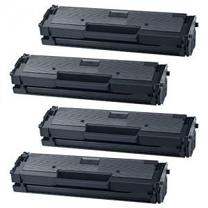 4 Pack Samsung MLT-D111S Toner Cartridge Black New Compatible