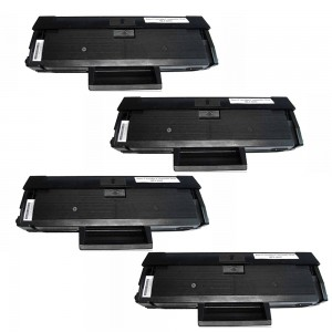 4 Pack Samsung MLTD101S Toner Cartridge Black New Compatible