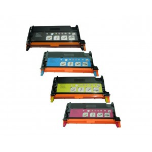 4 Pack Combp Xerox 106R01392 106R01393 106R01394 106R01395 Toner Cartridge Black/Cyan/Magenta/Yellow (Xerox P6280) New Compatible