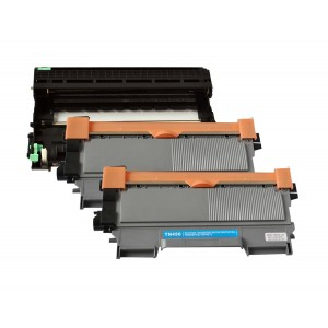 3 Pack 1D/2T Combo Brother DR420/TN450 Toner Cartridge New Compatible