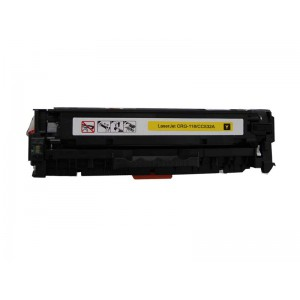 Hp CC532A /Canon CRG118 Hp CF382A / HP 312A / HP 305A / CE412A (2660B001AA) Toner Cartridge Yellow New Compatible