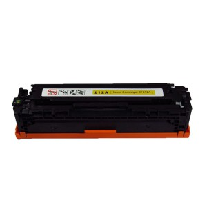 HP CF212A(Y)/CB542A/CE322A/ Canon CRG 131/331/731/116 (1977B001AA)(6269B001AA) Toner Cartridge Yellow New Compatible