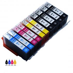 10 Pack BK/C/Y/M/PBK Combo Hp 564XL(CB321W/ CN684WN) Ink Cartridge Black/Cyan/Magenta/Yellow/Photo Black New Compatible
