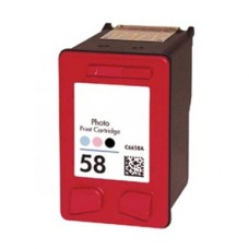 Hp 58  (C6658A) Ink Cartridge Photo Color Remanufactured