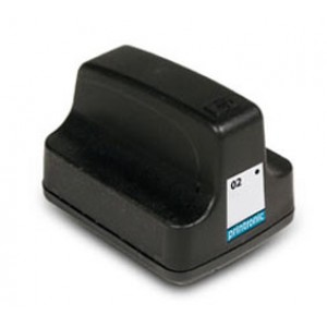 Hp 02  (C8721WN) Ink Cartridge Black Remanufactured