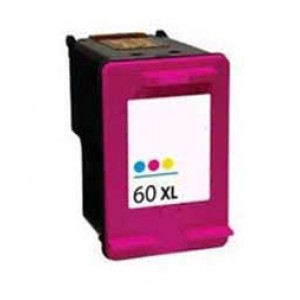 Hp 60XL (CC644W) Ink Cartridge Tricolor Remanufactured