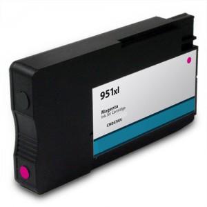 HP 951XL CN047AN Ink Cartridge Magenta Remanufactured