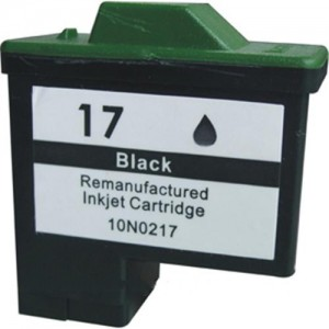Lexmark 17 Ink Cartridge Black Remanufactured (10N0217)