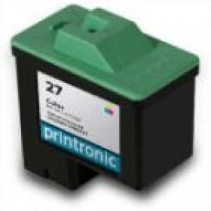 Lexmark 27/26 (10N0227/10n0026) Ink Cartridge Tricolor Remanufactured