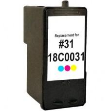 Lexmark 31 Ink Cartridge Photo Color Remanufactured (18C0031)