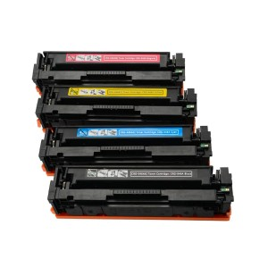 4 Pack BK/C/Y/M Combo Canon 046H Black/Cyan/Magenta/Yellow Remanufactured Toner Cartridge High Yield