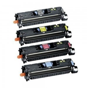 4 Pack 1BK/1C/1M/1Y Combo Hp Q3960A Q3961A Q3962A Q3963A /Hp C9700A C9701A C9702A C9703A/Canon  EP-87 (7433A005AA )Toner Cartridge Black/Cyan/Magenta/Yellow Remanufactured
